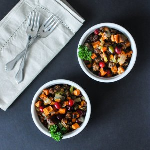 paleo-sweet-potato-cranberry-stuffing-fedfit-5