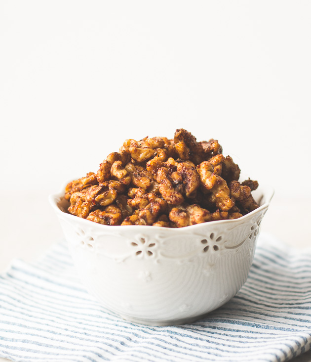Spicy-Korean-Style-Roasted-Walnuts