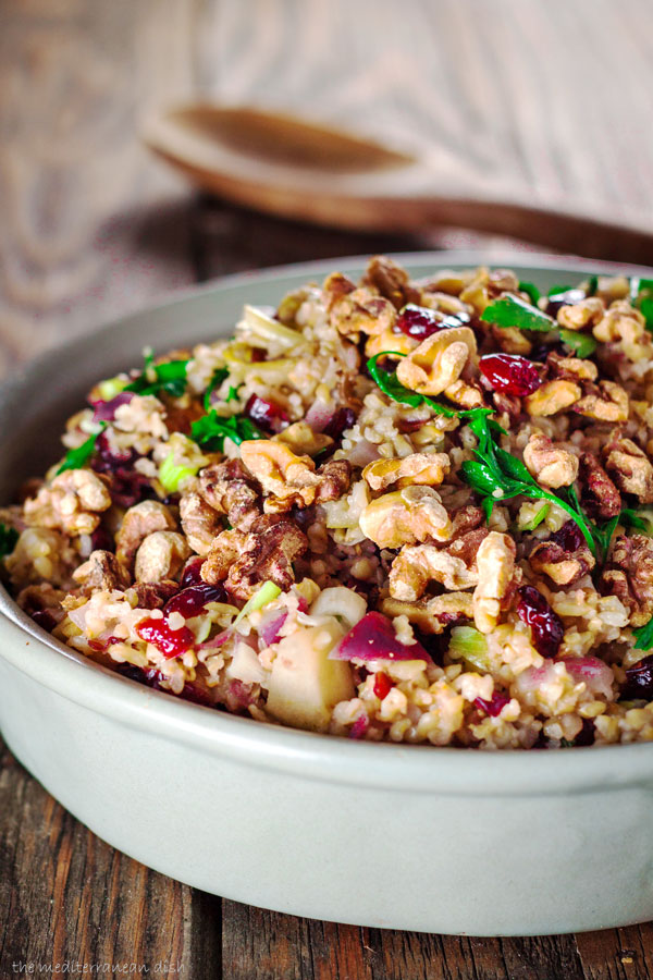 Freekeh-Recipe-for-Cranberry-Apple-Stuffing-7