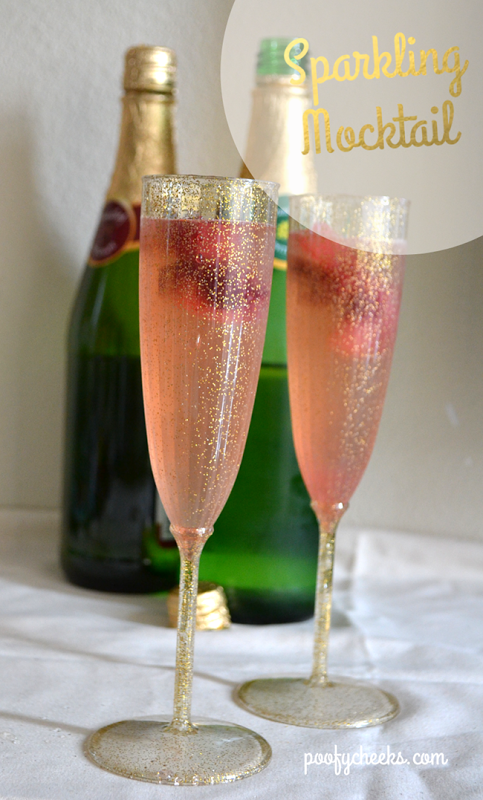 Simply Sparkling Raspberry Mocktail
