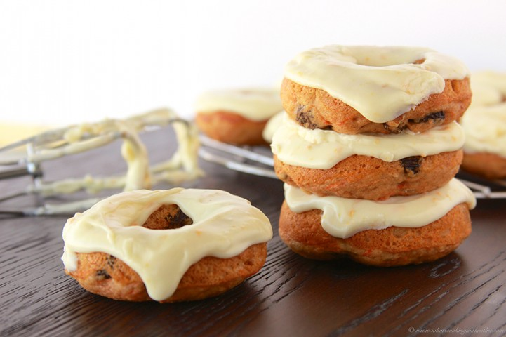 Baked-Carrot-Cake-Donuts-with-Orange-Cream-Cheese-Glaze-721x480